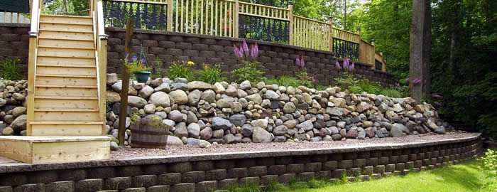 Wausau Retaining Wall Construction Services